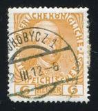 利奥波德比利时打印的II 免版税库存图片