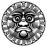玻利尼西亚纹身花刺 图库摄影