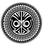 玻利尼西亚纹身花刺 免版税库存图片
