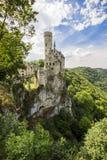 利希滕斯泰因城堡,德国 免版税库存照片