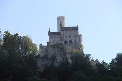 利希滕斯泰因城堡 库存照片