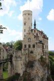 利希滕斯泰因城堡 免版税库存图片