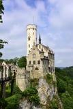 利希滕斯泰因城堡 免版税图库摄影