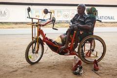 利文斯东- 2013年10月14日:有adapte的地方残疾人 库存图片