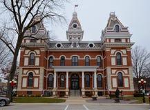 利文斯顿县法院大楼 库存照片