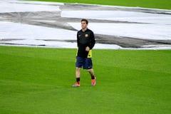 利昂内尔・梅西,足球超级明星,巴塞罗那足球俱乐部,阿根廷 库存图片
