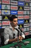 拉斐尔Marquez正式地被提出作为俱乐部利昂的新的球员 图库摄影