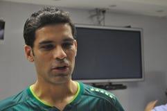拉斐尔Marquez正式地被提出作为俱乐部利昂的新的球员 库存图片