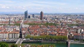利昂都市风景,在法国 股票录像