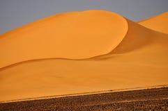 利比亚沙丘 免版税库存照片