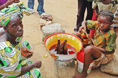利比里亚,西非 免版税库存照片