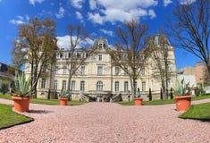 利沃夫州全景 Potocki宫殿在利沃夫州,乌克兰 免版税库存图片