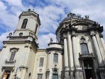 利沃夫州教会 免版税库存照片