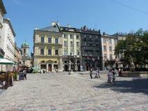 利沃夫州 免版税库存照片
