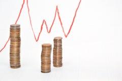 利润增长日程表  库存图片