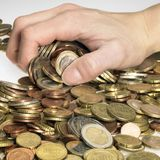 利润收割 免版税库存图片