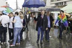利物浦自豪感-爱不是罪行-加利Millar市长阁下 免版税库存照片