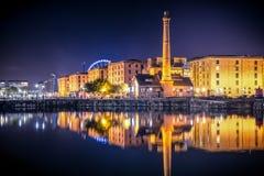 利物浦英国 库存图片