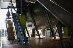 利物浦街道火车站内部 免版税库存图片
