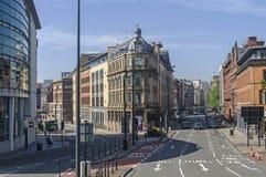 利物浦街道  库存照片