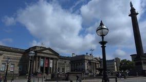 利物浦St乔治广场4K 股票视频