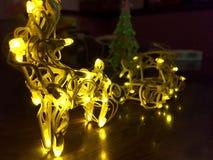 利用仿生学的圣诞节 免版税库存图片