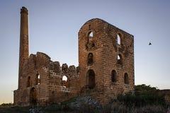 利纳雷斯矿废墟 库存图片