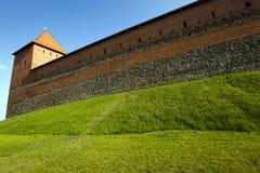 利达城堡,白俄罗斯 库存照片