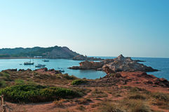 巴利阿里群岛menorca西班牙 库存图片