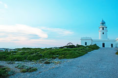 巴利阿里群岛menorca西班牙 图库摄影