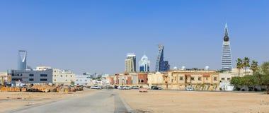 利雅得,沙特阿拉伯- 2015年2月9日:都市风景,如果利雅得 免版税图库摄影