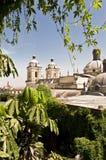 利马,秘鲁,旧金山教会 免版税库存照片
