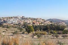 利马索尔镇的看法在Cypru 免版税库存图片