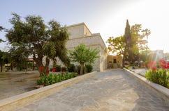 利马索尔,塞浦路斯中世纪城堡  免版税库存图片