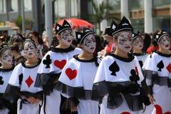 狂欢节在塞浦路斯 免版税库存照片