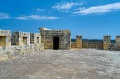 利马索尔,塞浦路斯- Kolossi城堡,中世纪塞浦路斯,好的堡垒 免版税库存照片
