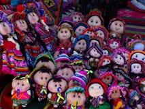 玻利维亚玩偶 免版税图库摄影