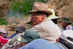 从玻利维亚的人 免版税库存照片
