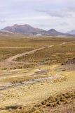 玻利维亚的山 免版税库存图片