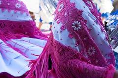 玻利维亚的舞蹈家 免版税库存图片