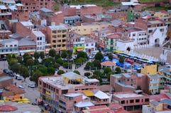 玻利维亚颜色 库存照片