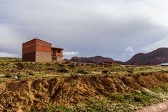 玻利维亚, altiplano的山 库存图片