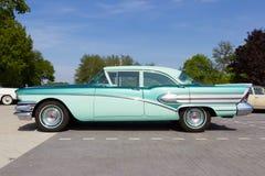 1958年别克专辑汽车 库存照片