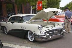 别克专辑4门hardtop 1955年 库存图片