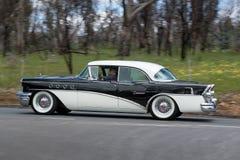 1955年别克世纪轿车 免版税图库摄影