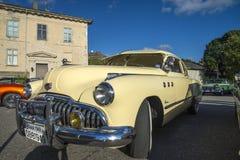 1949年别克八超级Dynaflow 2门小轿车 免版税库存照片