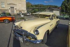 1949年别克八超级Dynaflow 2门小轿车 免版税图库摄影
