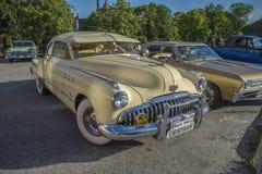 1949年别克八超级Dynaflow 2门小轿车 免版税库存图片