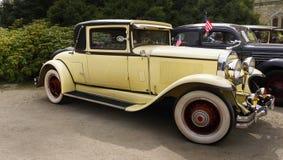 别克小轿车1929年,葡萄酒汽车,豪华汽车 免版税库存图片