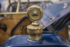 1912年别克模型34 (细节Motometer) 库存照片